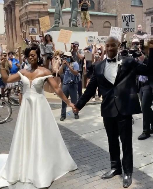 Philadelphia Protest Wedding