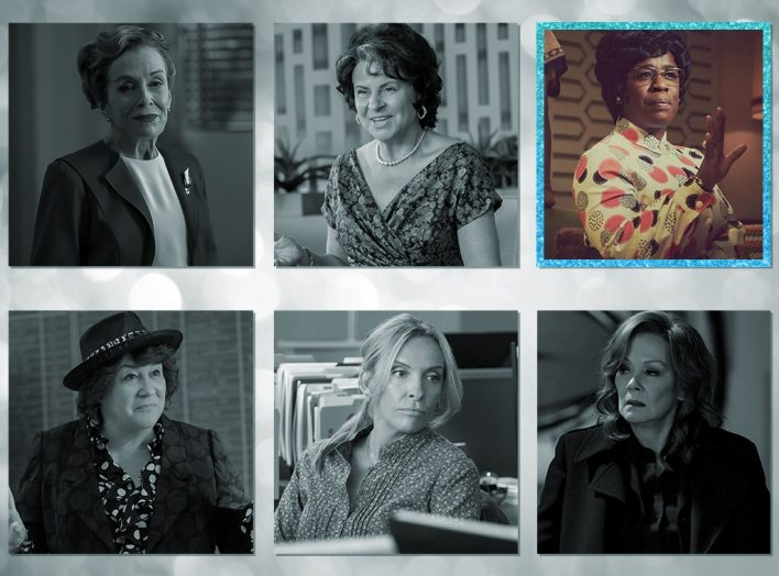 Emmys, 2020 Emmy Awards Nominees, Outstanding Supporting Actress In A Limited Series Or Movie,  Uzo Aduba, Mrs. America