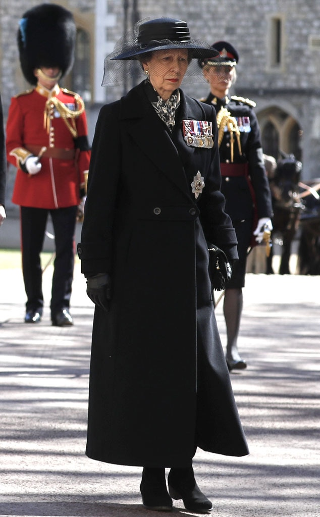 Prince Philip Funeral, Princess Anne