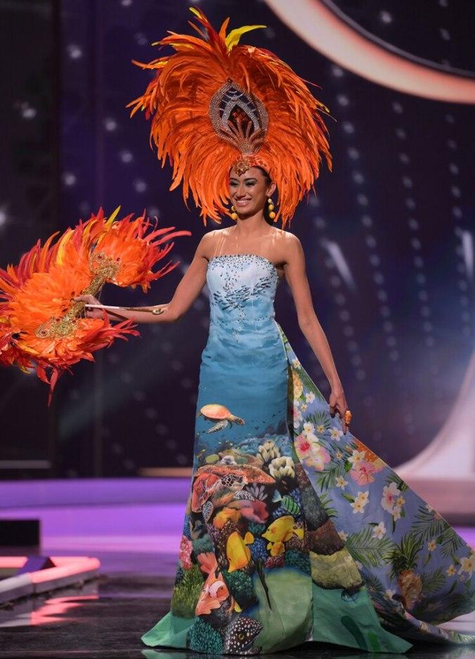 Miss Universe 2021, Miss Mauritius, Costumes, Widget