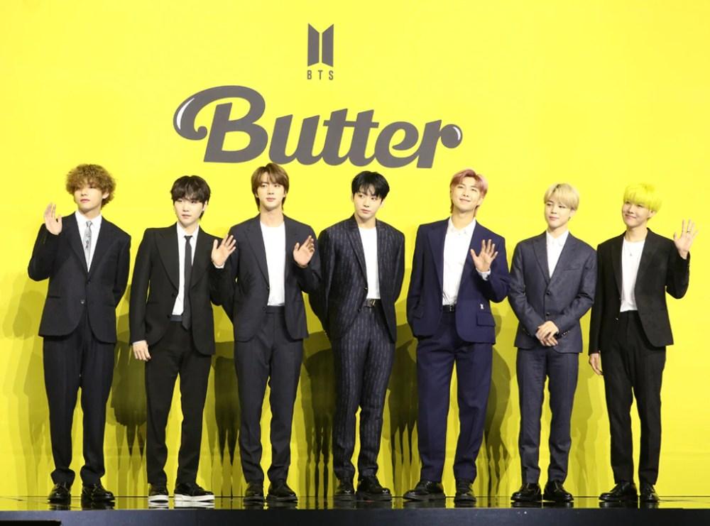 BTS, Butter Release