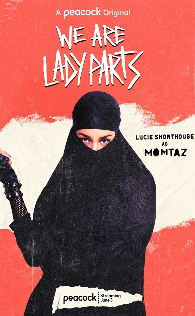 Rock on! See the Fierce Character Posters for We Are Lady Parts - E! Online  Deutschland