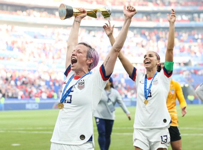 U.S. Women's Soccer Team, Megan Rapinoe