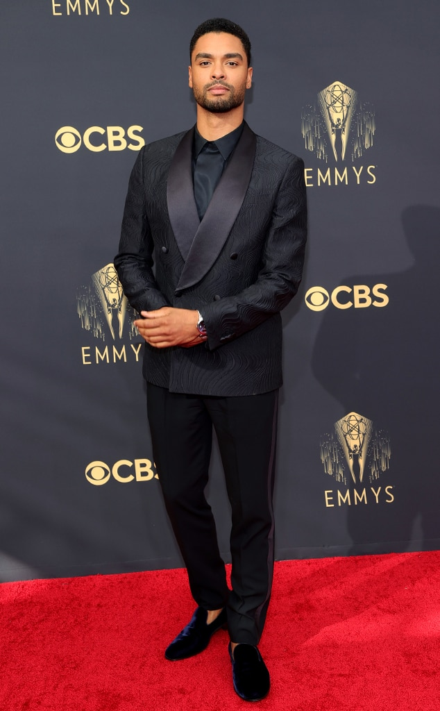 Regé-Jean Page, 2021 Emmys, Emmy Awards, Red Carpet Fashions, Arrivals