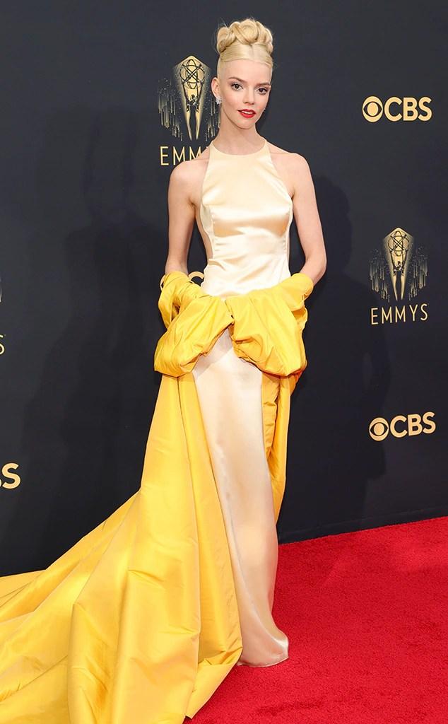 Anya Taylor-Joy, 2021 Emmys, Emmy Awards, Red Carpet Fashions, Arrivals