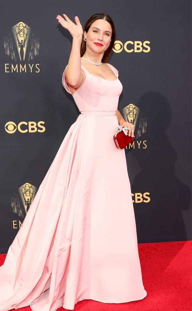 Sophia Bush, 2021 Emmys, Emmy Awards, Red Carpet Fashions, Arrivals