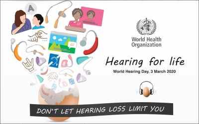 Ever heard of World Hearing Day?