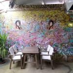Mural for restaurant