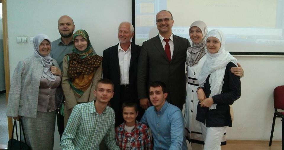 Dr. Muharem Adilović sa porodicom
