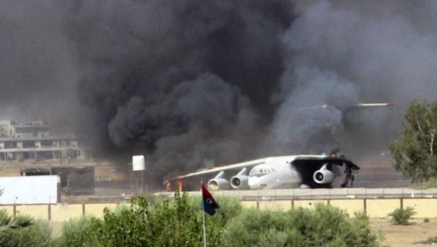 Zbog općeg haosa u kojem se Libija trenutno nalazi, postoji mogućnost da zapadne sile ponovo interveniraju [EPA]
