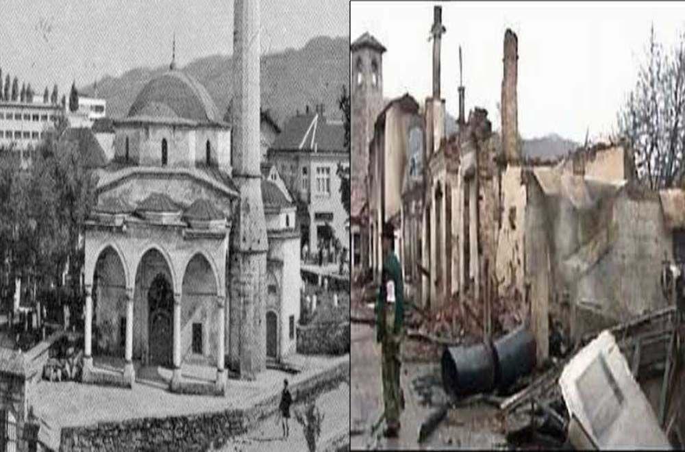 Kamen Temeljac Za Ponovnu Izgradnju Arnaudija Dzamije U Banjoj