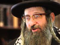 Rabin Dovid Weiss: Izrael mora biti ukinut da bi Jevreji služili Bogu