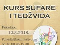 Udruženje Svitanje organizuje kurs sufare i tedžvida