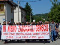 Ruže u Drini za bošnjačke žrtve Bratunca iz 1992. godine