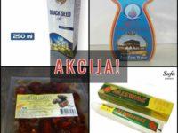 AKCIJA Ramazanska priprema: čurekotovo ulje, hurme, pasta za zube + POKLON zem-zem voda