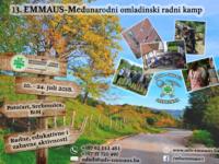 Otvorene aplikacije za 13. EMMAUS – međunarodni omladinski radni kamp 2018