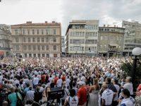 "Sarajevo: Na protestu ""Pravda za Dženana"" okupilo se nekoliko hiljada ljudi"