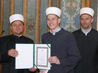 Novi hafiz Škole hifza Medžlisa Sarajevo: Hafiska dova na rođendan