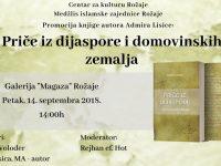 """Promocija knjige """"Priče iz dijaspore i domovinskih zemalja"""" u Rožaju"""
