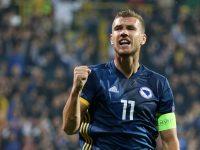 BiH favorit protiv Lihtenštajna: Reprezentaciji male evropske zemlje Džeko dao šest golova
