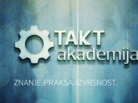 Prilika ponovo kuca: Prijavite se na novi ciklus TAKT akademije