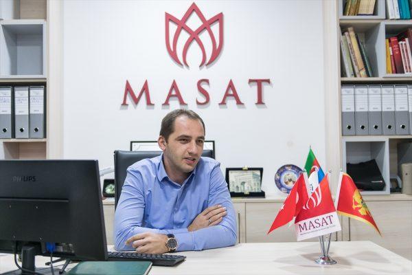 Erdan Sefererović, predstavnik uduženja MASAT