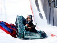 "Festival ""Battle Sani"" u Moskvi: Stotine djece se spuštalo niz snježnu stazu"