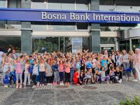 Đaci iz Srebrenice posjetili centralu BBI banke u Sarajevu