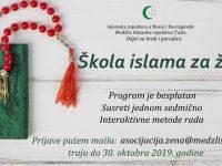 Škola islama za žene – prijave