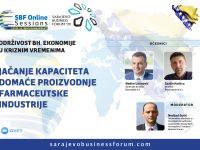 SBF Online Session #3: Jačanje kapaciteta domaće farmaceutske industrije