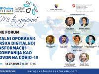 SBF Online Session #5: Podrška digitalnoj transformaciji bh. kompanija kao odgovor na Covid-19