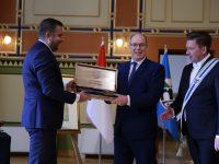 Princu Albertu II od Monaka uručen Ključ Grada Sarajeva