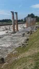 The remaining ruins of The Forum in Aquileia, Italy. Photo taken by Trina Otero with Samsung Galaxy Note 2.