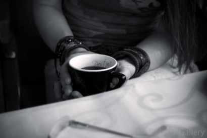 Coffee = love = makes the world go round! Lake Bled Castle, Slovenia, June 2013. Photo © Deja'vu Gallery