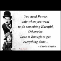 love is enough by Charlie Chaplin