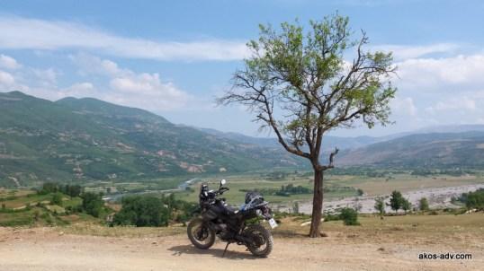 Widok na koryto rzeki Zi