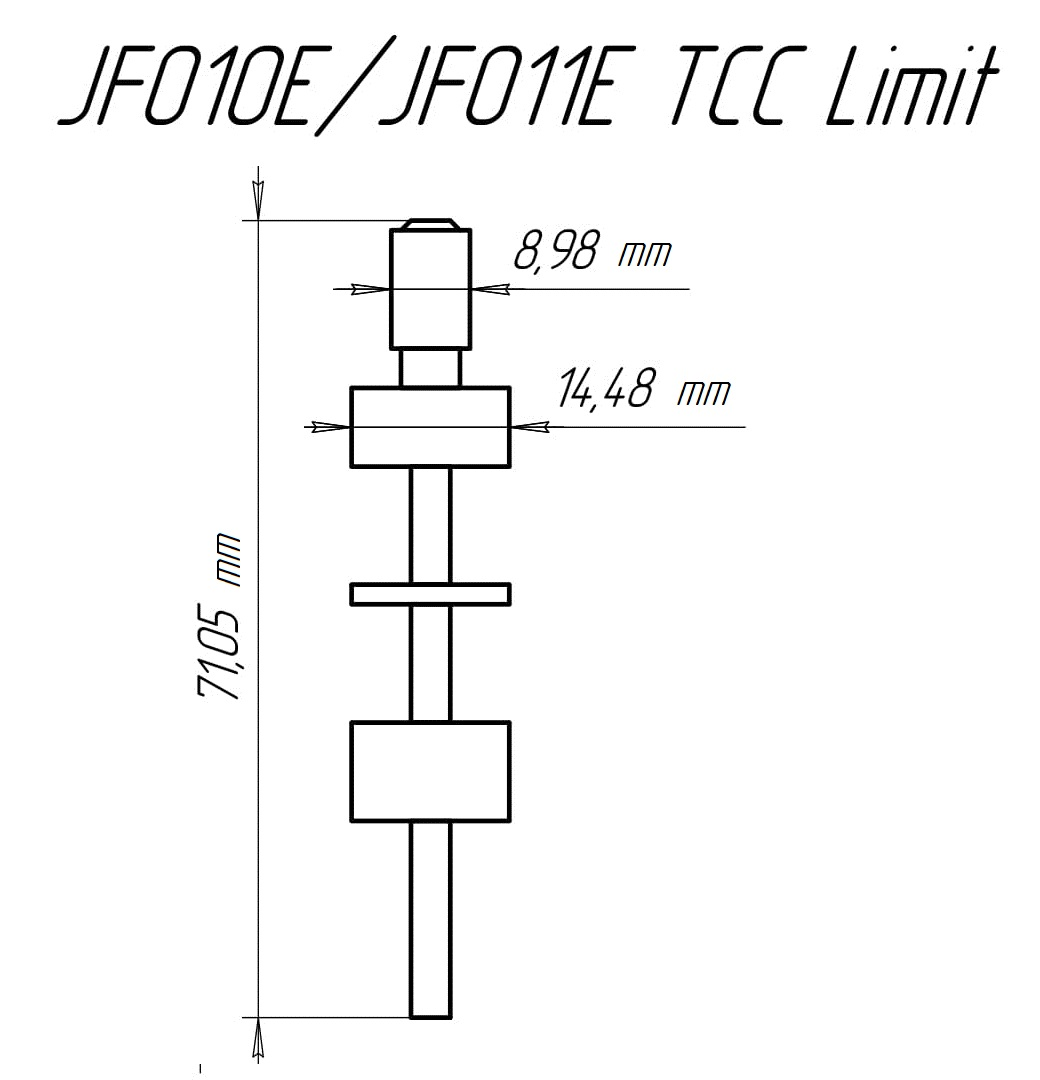 Tcc Limit Amp Lube Jf010e Re0f09a Jf011e