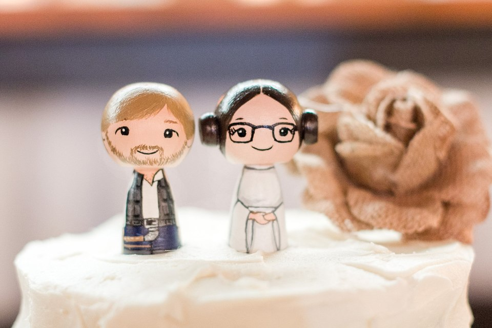 Customized Star Wars Cake Topper