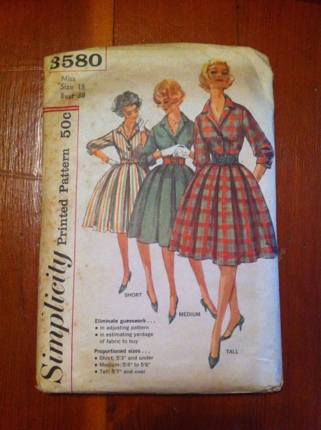 One of a few vintage patterns I've come across
