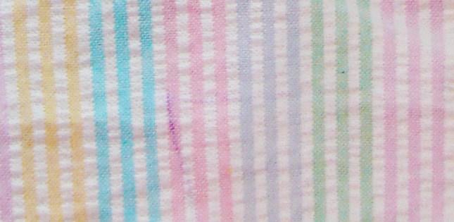 Playful striped fabric