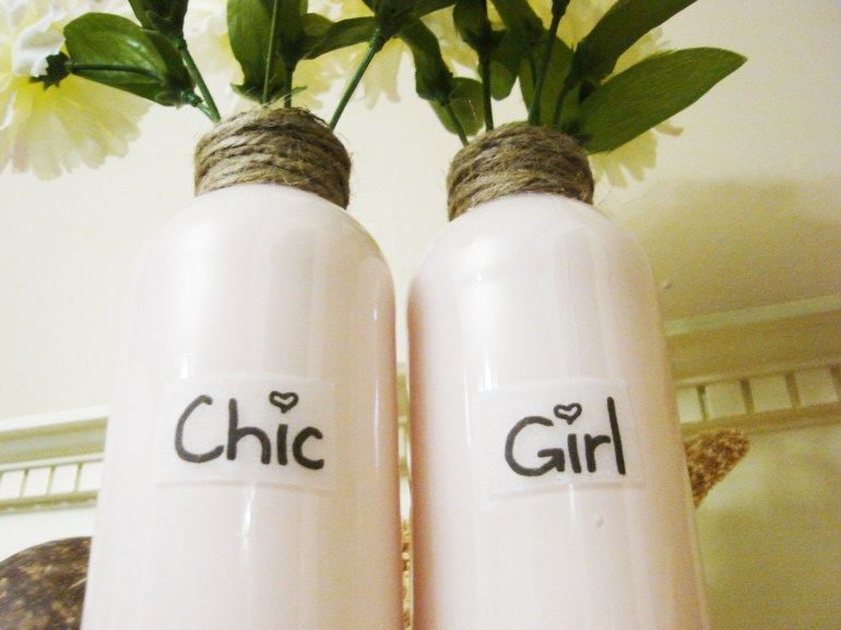 Chic Girl Vases