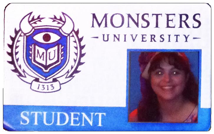 My Monsters University Student ID