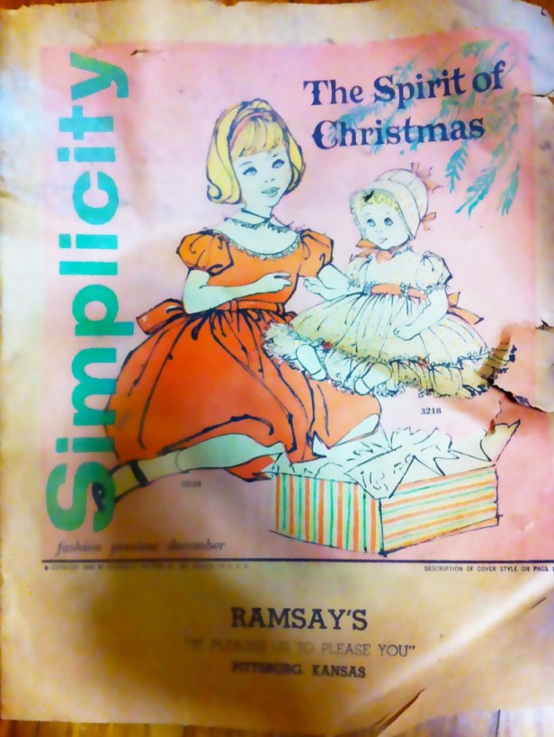 1959 Christmas edition Simplicity Pattern Catalog
