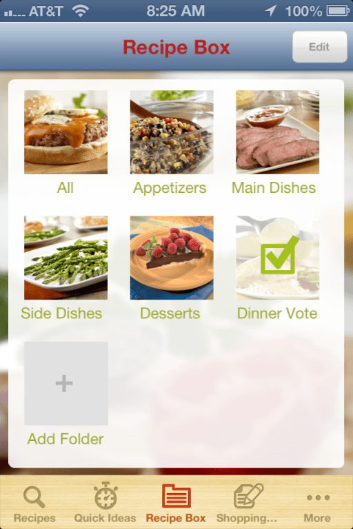 Campbell's Kitchen App