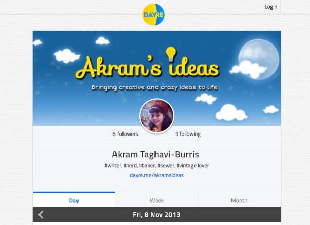 Akram's Ideas Dayre