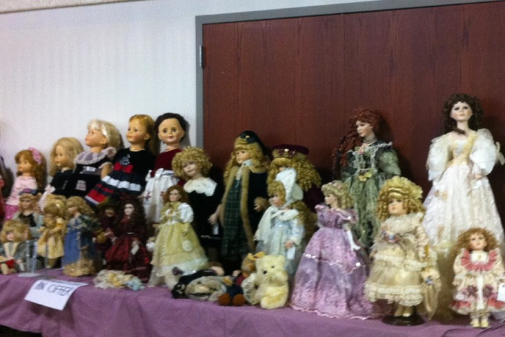 Antique Dolls can go for thousands of dollars
