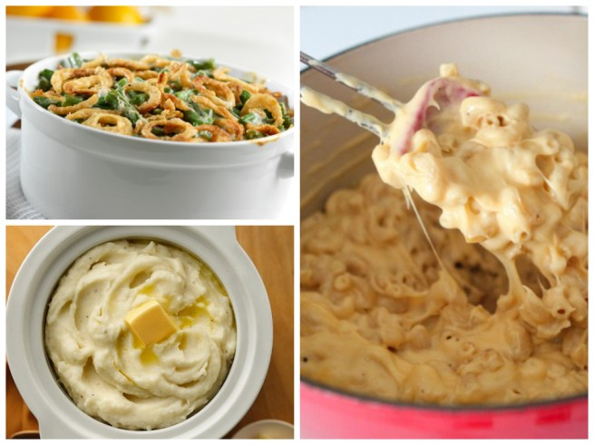 Here are a few of my favorite sides. images courtesy of Campbells' Kitchen, Pillsbury, and Picky Plate.