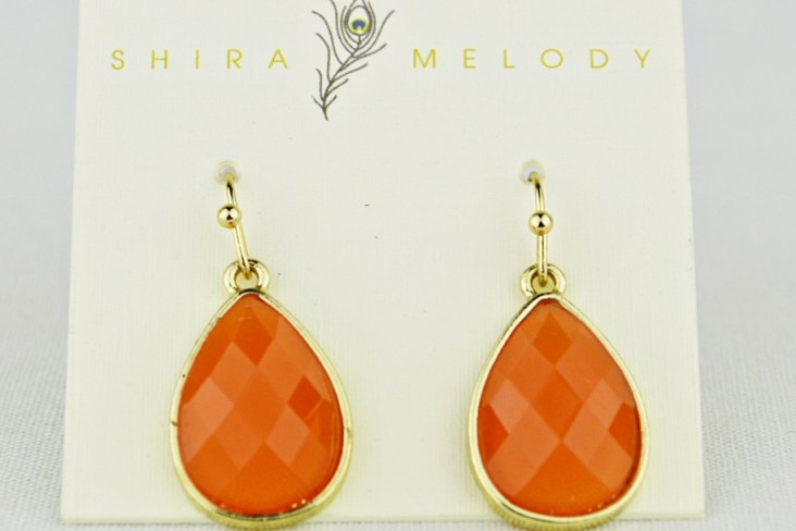 Jordan Earring in coral