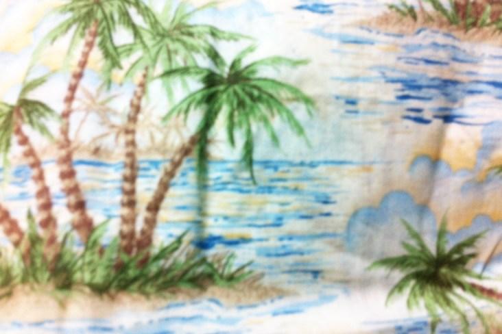 Beach Print Fabric