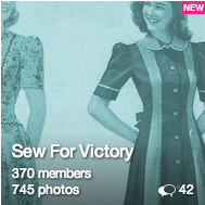 Sew for Victory Flickr Group